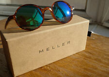 Meller Kribi Parsonii Emerald Polarised sunglasses Brown frame Green Mirror
