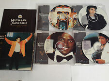 MICHAEL JACKSON TOUR SOUVENIR LTD ED PICTURE 4 CD SET RARE OOP 1992