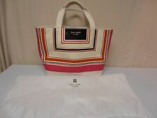NEW w/TAG and Dust bag! KATE SPADE COAL TOTE COPENHAGEN PINK MULTI