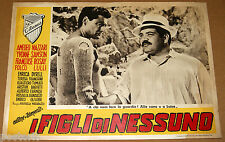 fotobusta film I FIGLI DI NESSUNO Folco Lulli Alberto Farnese R.Matarazzo 1951