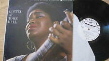 ODETTA 'at town hall' ORGNL 1963 US VANGUARD WHITE LABEL PROMOTIONAL LIVE LP