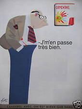 PUBLICITÉ CANDEREL - J'MEN PASSE TRÈS BIEN - AVEC ON EST MIEUX QUE SANS - KIRAZ