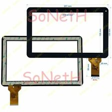 "Vetro Touch screen Digitizer 10,1"" Kon.EL.Co Spa M1011 Tablet PC Nero"
