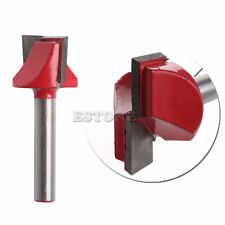 "1/4"" Router CNC Woodworking V Groove Bottom Cleaning Bit Milling Cutter 6mmx22mm"