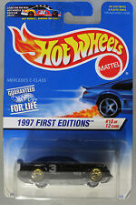 Hot Wheels 1:64 Scale 1997 First Editions Series MERCEDES BENZ C-CLASS (BLACK)