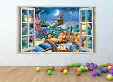WINNIE THE POOH Window Effect Wall Art Sticker *GIANT SIZE* pw81