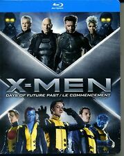 X MEN DAYS OF FUTUREPAST + LE COMMENCEMENT  coffret 2 blu ray  neuf ref 31121512