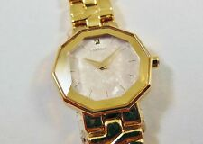 Lassale by Seiko Gold Tone Base Metal 4N00-4130 Sample Watch NON-WORKING