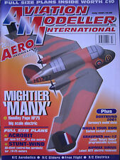 Aviation Modeller International - July 2001 Complete with Unused Plan ACROBIT
