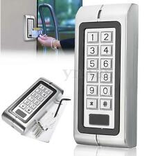 Metal Password Keypad Card Reader Entry Door Lock Access Control Security System