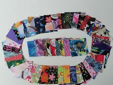"100 2.5"" x 2.5""_squares_assorted_die cut_quilt fabric_charm pack"
