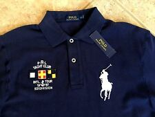 Polo Ralph Lauren Maine Beach Yacht Club Mesh Shirt 4XLT Navy wBig Pony $125 NWT