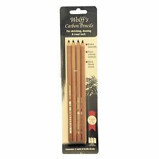 Wolff's Carbon Pencils sketching drawing pencil graded rich tone