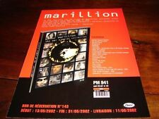 MARILLION EMI SINGLES!!!!!!!RARE FRENCH PROMO PRESS/KIT
