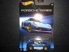 Hot Wheels Porsche Boxster Spyder Biue Walmart Exclusive 1/64