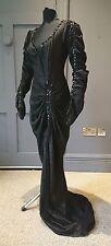 Sensational 1930s designer robe de soirée par Haffenden-vrai vintage fashion
