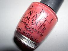 OPI Nail Polish **CONGA-LINE CORAL** Nail Lacquer~NL B81~NEW