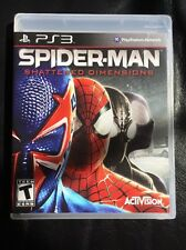 SPIDER-MAN SHATTERED DIMENSIONS BRAND NEW SEALED PS3 VIDEO GAME