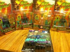 Mars Attacks Action Figures Lot ( 5 Action Figures)