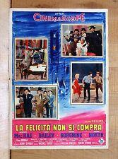 LA FELICITà NON SI COMPRA fotobusta poster Borgnine Mac Rae Dailey North Musical