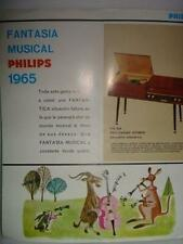 REVISTA - MAGAZINE FANTASIA MUSICAL PHILIPS