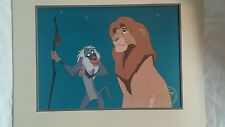 Disney's The Lion King Exclusive Commemorative Lithograph 1995 Simba