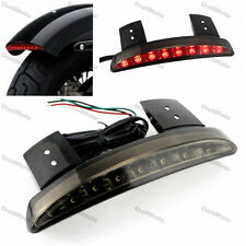 Chopped Fender Edge LED Tail Light For Harley 2007-2013 Sportster 1200 883 Smoke
