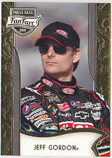 2011 Press Pass Fanfare #14 Jeff Gordon