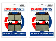 Aprilia RSV 1000 Tuono Fighter 03-05 Front Brake Pads (2 Pairs)