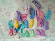 Vintage My Little Pony Brush Comb Lot G1 WoW!!!