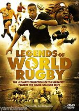 LEGENDS OF WORLD RUGBY * NARRATED BY IAN ROBERTSON * NEW & SEALED DVD