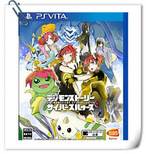 PSV Digimon Story Cyber Sleuth ENGLISH JAPANESE SONY VITA Bandai Namco Games RPG