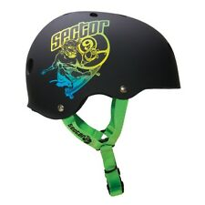SECTOR 9 Carvin 9 mm CPSC Skate Helmet Black L/XL Skateboard Longboard Scooter