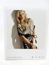 "ETRO Spring Summer 2014 Women's Collection - approx 7"" x 8.75"" 45 pages"