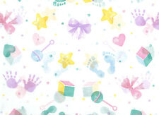 Adorable Baby Design Tissue Paper on White #567 ~ 10 Large Sheets