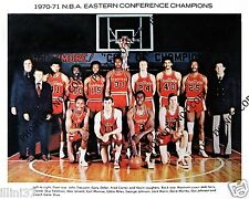 1970-71 BALTIMORE BULLETS 8X10 TEAM PHOTO HAYES UNSELD MONROE MARIN GUS JOHNSON