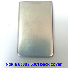 100% Genuine Original Nokia 6300, 6300i Back Battery Cover Fascia Housing Silver