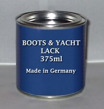 BOOTS YACHT LACK 375ml Bootslack farblos Kunstharzbasis (24,93€/L)