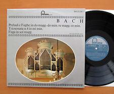 Bach Prelude & Fugue in D Minor etc Christoph Albrecht Organ Fontana 894 125 ZKY