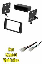 Car Stereo Radio Dash Kit Combo for some 2002 2003 2004 2005 2006 Toyota Camry