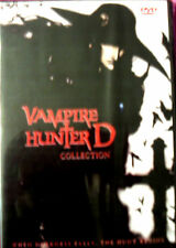Vampire Hunter D; Both Special Edition & Blood Lust; Two Movies One Collection!