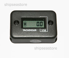 New Motorcycle Motorbike engine RPM counter Tachometer Hour Meter  4 stroke UK