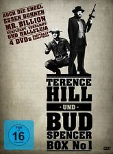 4 DVD´s - Terence Hill & Bud Spencer - Box 1 (2011) - NEU & OVP