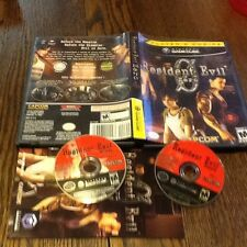 USED Resident Evil 0 (Nintendo GameCube 2002) ZOMBIE VIDEO GAME FREE US SHIPPING