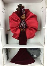MIB Collector Bob Mackie Ruby Radiance Barbie Doll 15520 With Shipper!