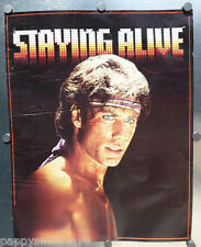 VINTAGE ORIGINAL 1983 STAYING ALIVE PARAMOUNT TRAVOLTA, THOUGHT FACTORY