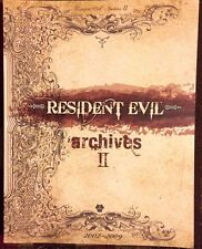RESIDENT EVIL ARCHIVES II 2002-2009 WII & GAMECUBE  STRATEGY GAME GUIDE