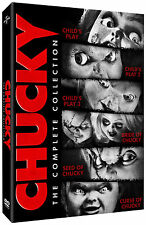 CHUCKY - Complete 1-6 Movie Collection Childs Play Boxset (NEW DVD)