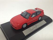 1/43 Scale Hi-Story Nissan 180SX S14 1996 Type X Super Red No. HS017