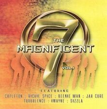 The Magnificent 7: Capleton, Beenie Man, Sizzla, Turbulence, I-Wayne ~ SEALED